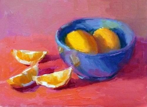 lemons-in-blue