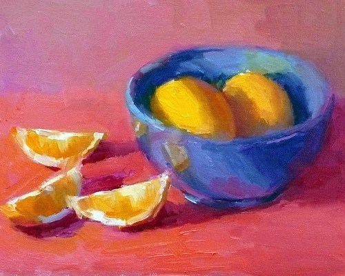 lemons-in-blue