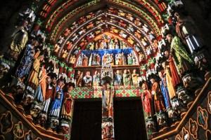 Amiens Cathedral western portal