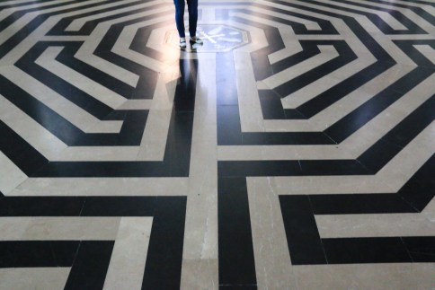 Amiens Cathedral Labyrinth
