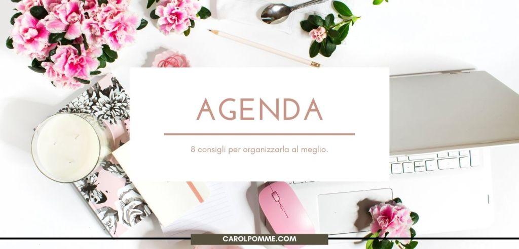 organizzare subito agenda