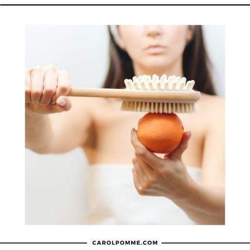 dry brushing cellulite