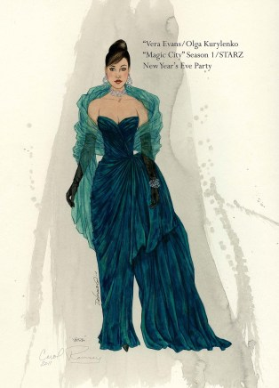 *Vera Evans-Magic City Teal Gown-New Years Eve-titled-Web