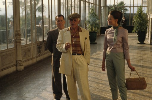 Picasso (Anthony Hopkins), Francoise Gilot (Natascha McElhone), Marcel (Peter Gerety)