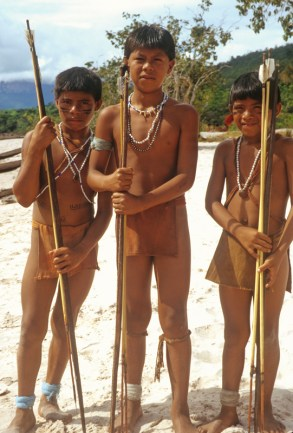 08_Yanomami Boys for Disney
