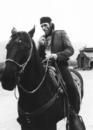 14_Bandito on horse-B&W
