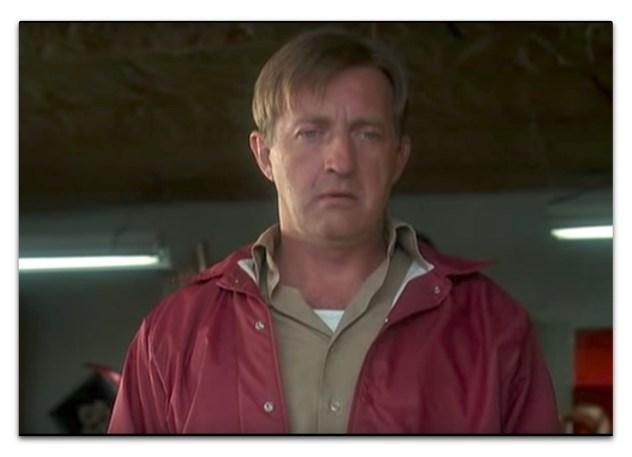 *Dad in red windbreaker