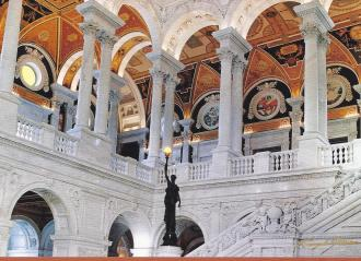 Library of congress great hall