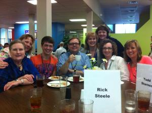 We even got to have lunch with Todd Starnes of FOX national news