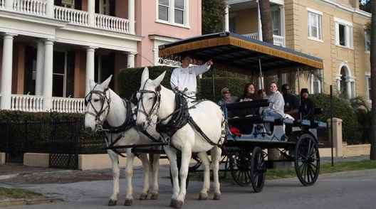 Charleston carriage tour