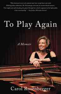 To Play Again: A Memoir