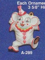 Alberta Ornaments 0289 clown mouse