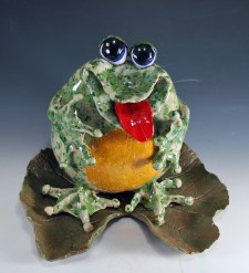 clay frog