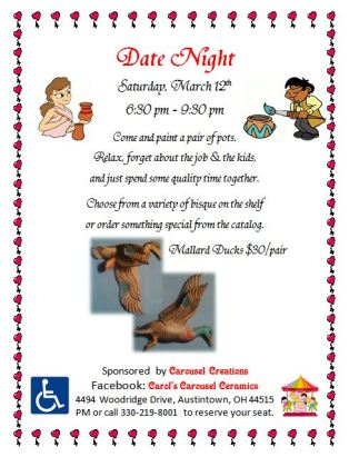 Date Night Workshop Poster