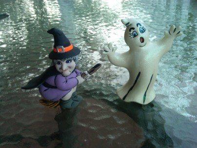 ghost and witch