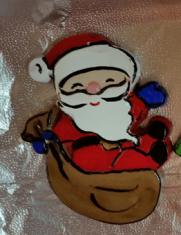S-K 0488 corky santa with bag