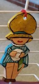 S-K 0490 corky holly hobby at work (dishes)