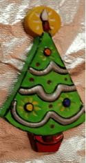 S-K 433 corky Mrs Santa Christmas tree