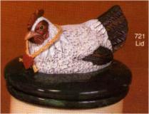 scioto 0721 white hen lid