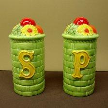 Duncan 0215 Four Seasons large basket salt & pepper