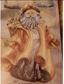 Gare 1567 Antique Santa with Puppets