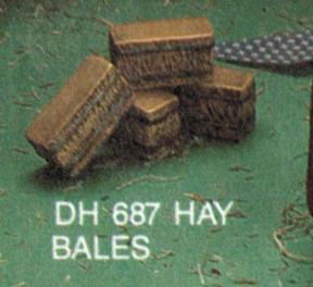 hay bales DH0687
