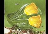 Holland 316 tulip spoon rest