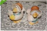 Kimple 0866 Ducks with bonnets salt & pepper shakers