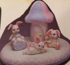 Kimple 0968 soft mushroom house