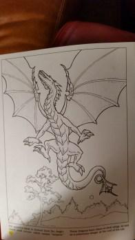 dragon drawing Wyvern