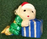 Wee Ones Elf with packageorn