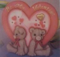 bear valentine card