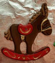 S-K 433 corky rocking horse
