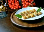 Assagio de queijo Brie e aspargos verdes