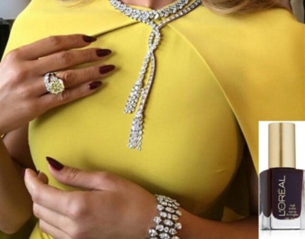Jennifer Lopez Golden Globes Carol Sisson esmalte