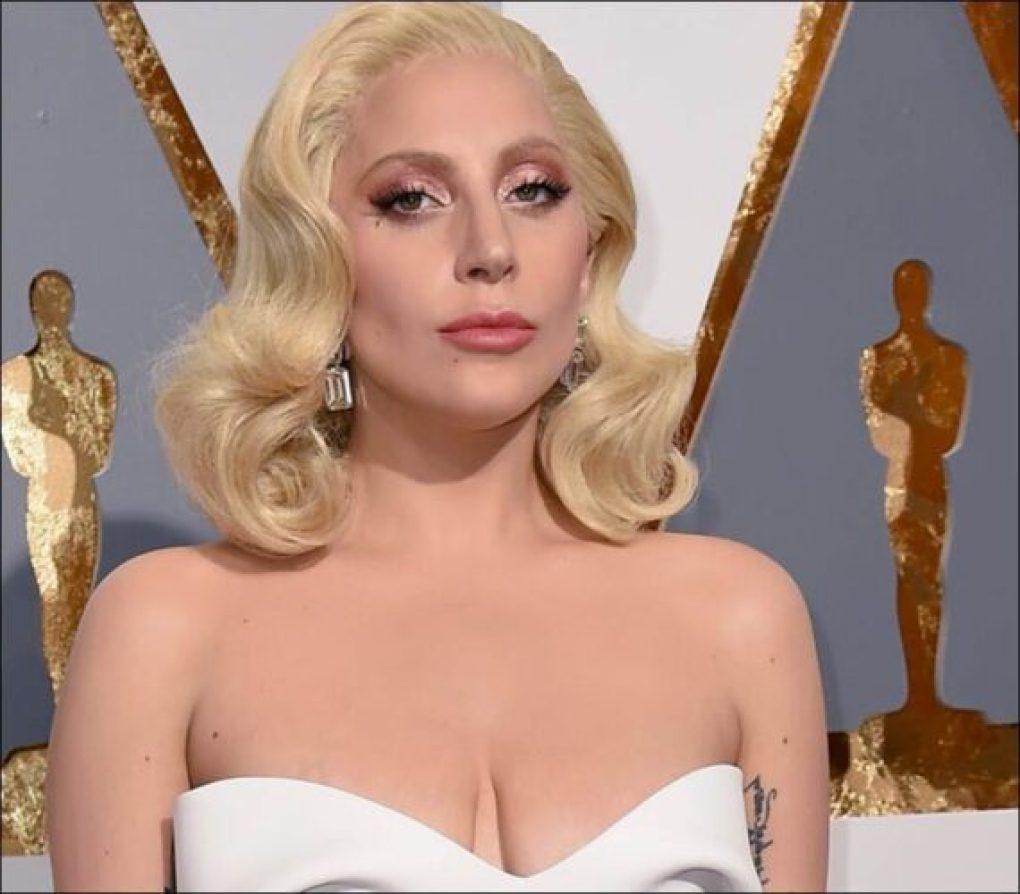 A maquiagem de Lady Gaga no Oscar 2016