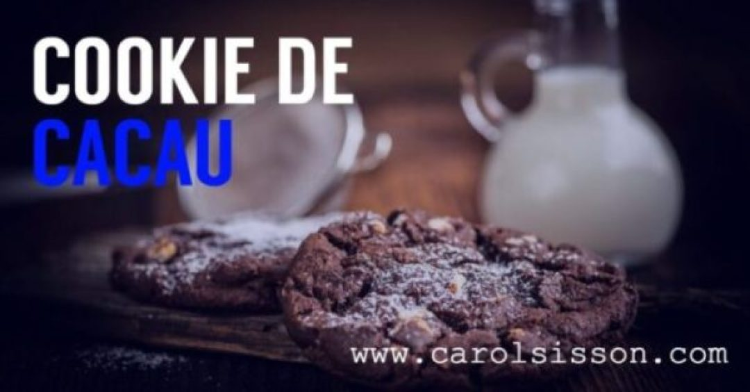 Cookie Cacau