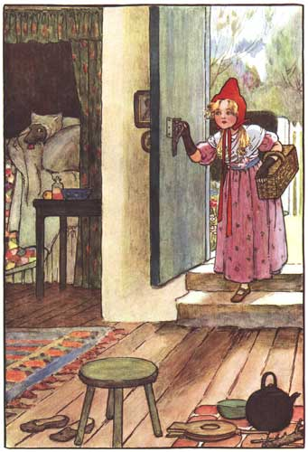 Sowerby's illustration from Grimm's Fairy Tales