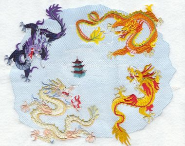 Thurday's Tale: The Four Dragons