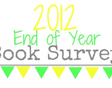 2012 End of Year Book Survey