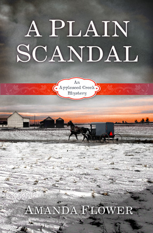 Review and Giveaway: A Plain Scandal by Amanda Flower