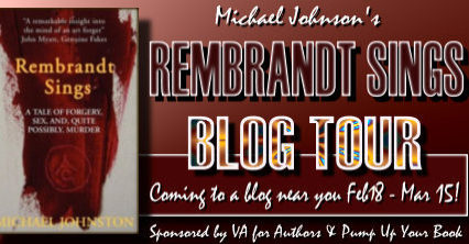 Guest Post: Michael Johnston, author of Rembrandt Sings