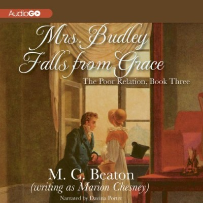Audiobook Review: Mrs. Budley Falls from Grace by Marion Chesney