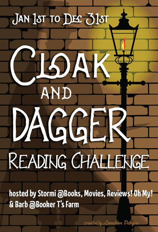 2018 Cloak and Dagger Reading Challenge