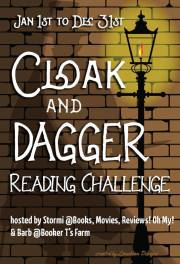 Cloak and Dagger Reading Challenge 2018