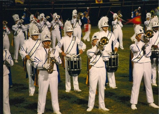 Wintersville High School Marching Band 1992-1993