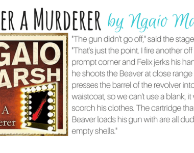 Enter a Murderer by Ngaio Marsh