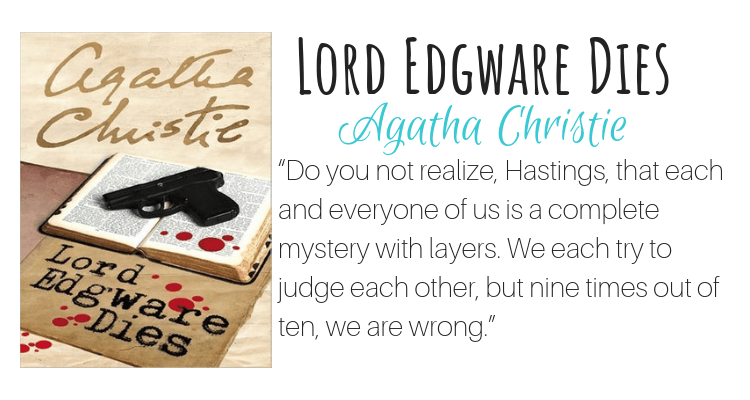 Lord Edgware Dies by Agatha Christie