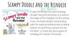 Scampy Doodle and the reindeer featured