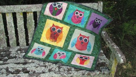 owl-quilt-made-using-carols-quilts-owl-acrylic-templates